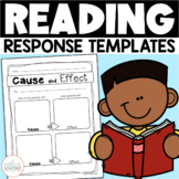 Reading Response Templates for Any Book  {Literature and I