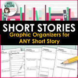 Short Story Graphic Organizers for Student Response - For