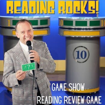Reading Rocks {Game Show Review Game}