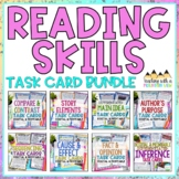 Reading Skills Task Card Bundle