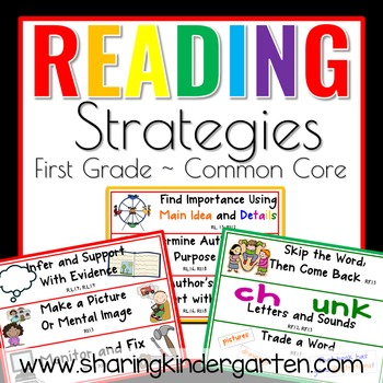 Reading Strategies for 1st Grade Common Core