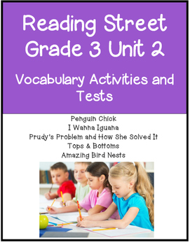 Reading Street Vocabulary Unit 2 Grade 3
