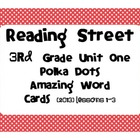 3rd Grade Amazing Words Reading Street Common Core 2013 Un