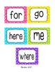Reading Street First Grade Sight/ High-Frequency Word Card