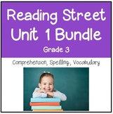 Reading Street Unit 1 Grade 3 Bundle