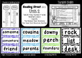 Reading Street  Unit Two Resources