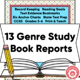 Comprehension: Genre Specific and Student Anchor Chart NO PREP!