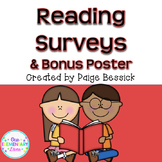 Reading Surveys, Poster & Notes from The Book Whisperer by
