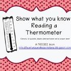 Reading Temperature Freebie