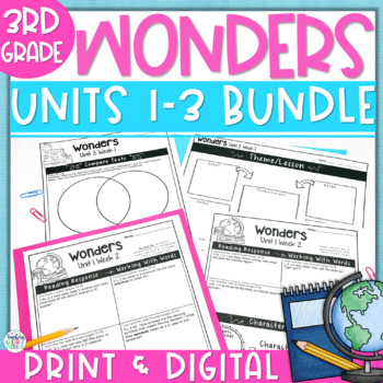 Reading Wonders 3rd Gr Constructed Response Bundle Pk Unit