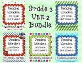 Reading Wonders, GRADE 3 CENTERS (Unit 2 BUNDLE!)