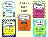 Reading Wonders, GRADE 3 CENTERS (Unit 3 BUNDLE!)
