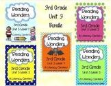 Reading Wonders, GRADE 3 CENTERS (Unit 3 BUNDLE!)