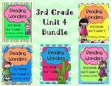 Reading Wonders, GRADE 3 CENTERS (Unit 4 BUNDLE!)
