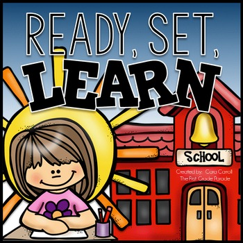 Back to School Math & Literacy Activities & Assessments