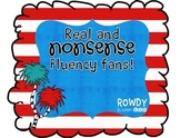 Real and Nonsense Fluency Fans
