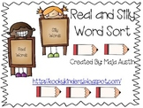 Real and Silly Word Sort