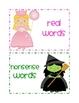 Real vs. Nonsense words: Wizard of Oz