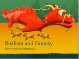 Realism Vs. Fantasy PowerPoint Lesson And Interactive Note