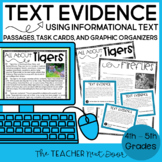 Reasons and Evidence Using Informational Text: Common Core