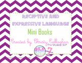 Receptive and Expressive Language Mini Books