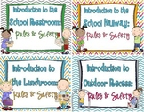 Recess, Restroom, Lunchroom, Hallway: Rules & Safety {bundle}