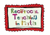Reciprocal Teaching in Math - original version - best seller!!!