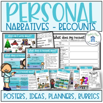 Recount Writing Rubric