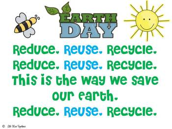 Reduce, Reuse, Recycle Poem
