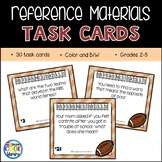 Reference Book Task Cards