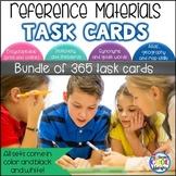 Reference Book Task Cards Bundle