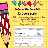 Reference Books Game Cards