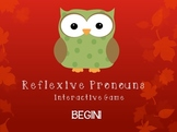 Reflexive Pronouns PowerPoint Game (Fall/Autumn Owls Design)