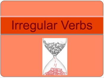 Regular and Irregular verb Grammar lesson and practice.