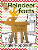 Reindeer Facts Fold and Learn