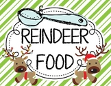 Reindeer Food {Letter From Santa} and {Bag Toppers}