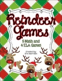 Reindeer Games {9 Math and ELA Holiday Games}