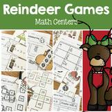 Reindeer Games- Math Center Fun- common core activities