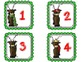 Reindeer Run FREEBIE {a subitizing game for numbers 1-10}