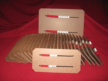Rekenrek / Bead Board Class Set & Teacher Board