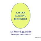 An Easter Egg Blessing Reminder
