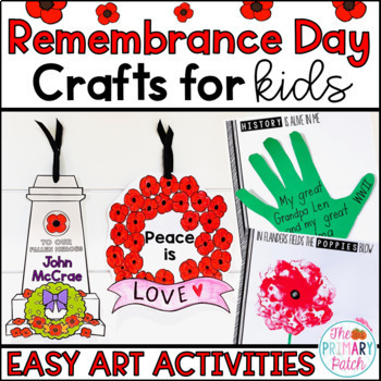 Remembrance Day Crafts for Young Learners