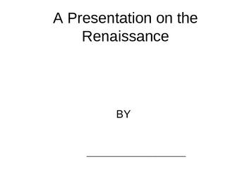 Renaissance Powerpoint