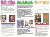 Renaissance and Reformation Entire Unit