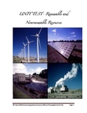 Renewable and Nonrenewable Resources Unit Test
