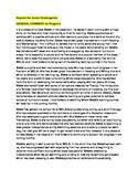 Report comments for Reception or Junior-Kindergarten students