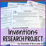 Research Project - Inventions and Innovations Packet