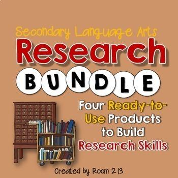 Research Skills Bundle (MLA)