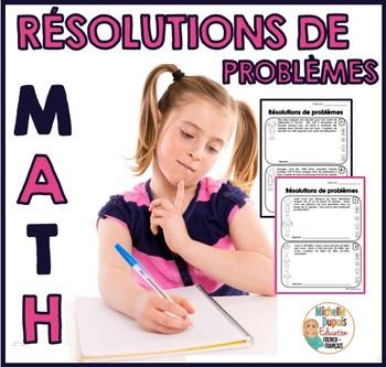 Résolutions de problèmes à plusieurs étapes (Math word problems)