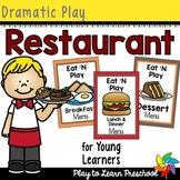 Restaurant - Dramatic Play Center